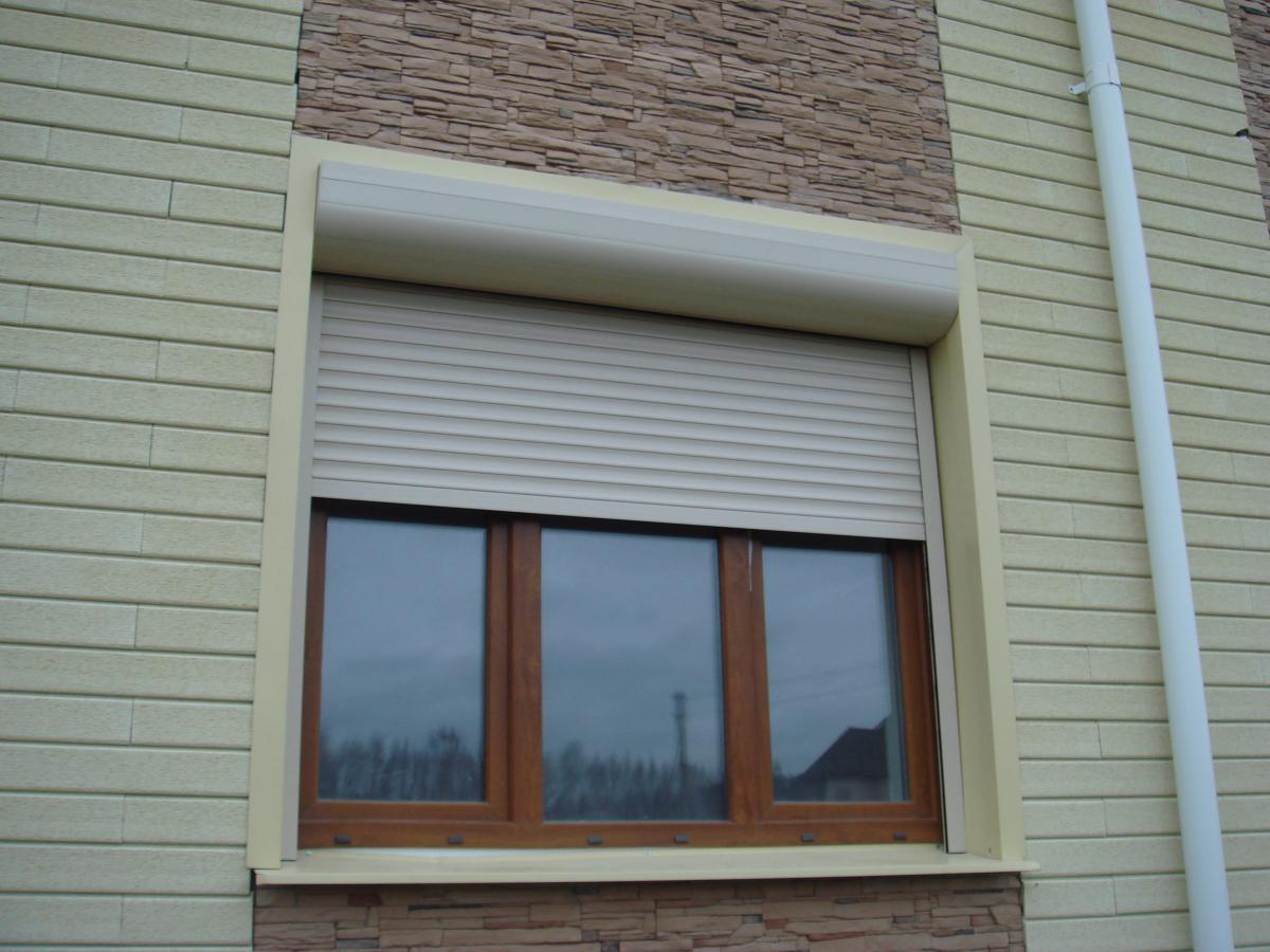 Рольставни на окна металлические