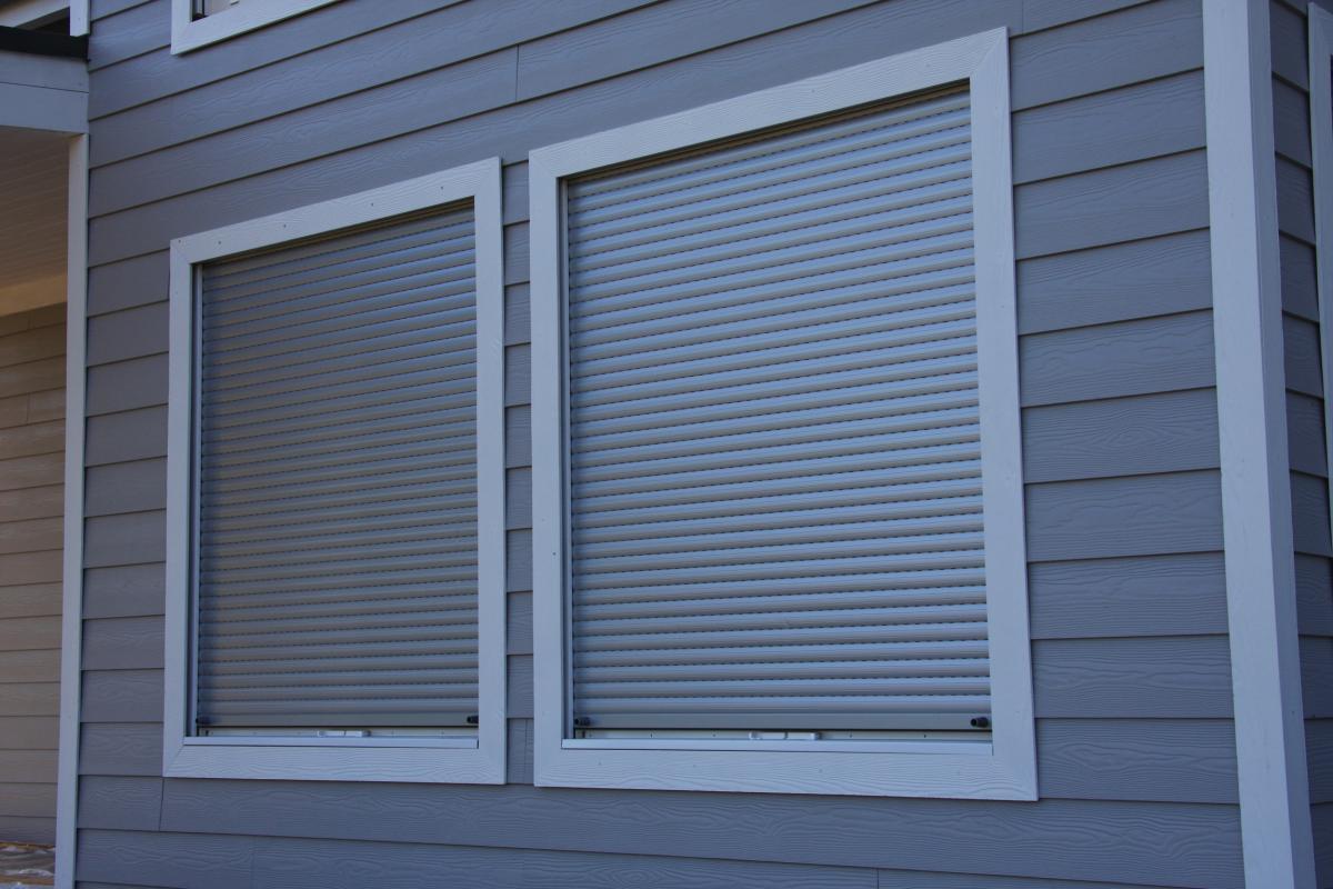Алюминиевые рольставни на окна