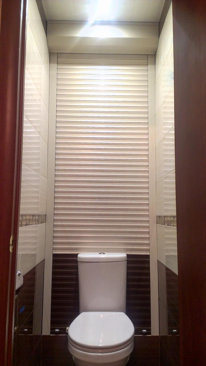 Заказать рольставни в туалет Москва,, комбинированные
