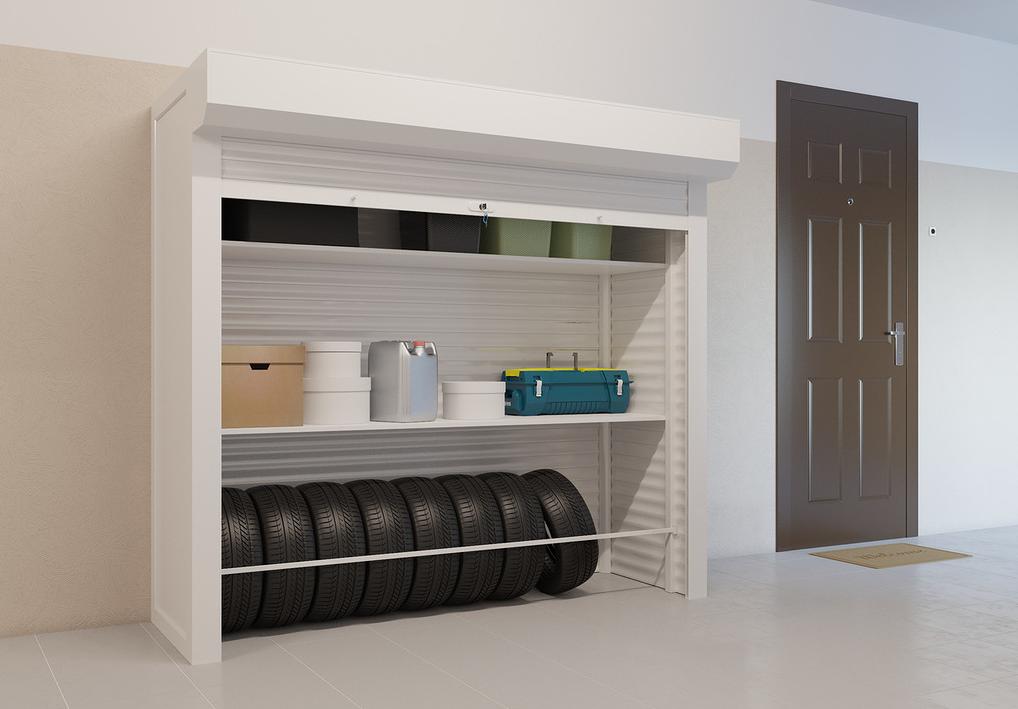 Рольставни для шкафа в гараж