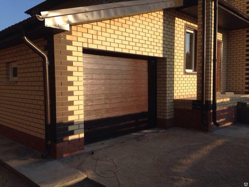 Ворота рольставни для гаража