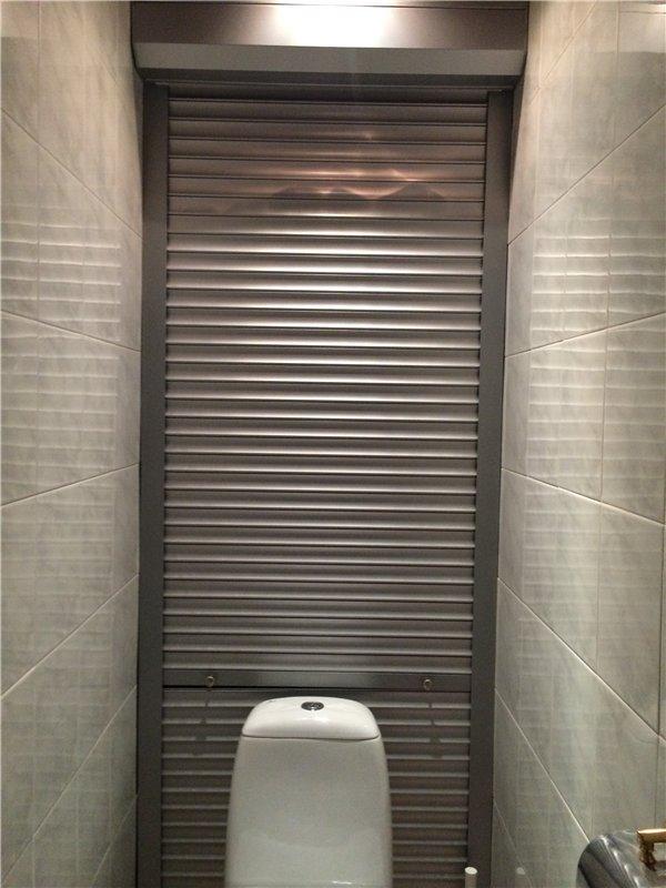 Рольставни в туалет купить Москва