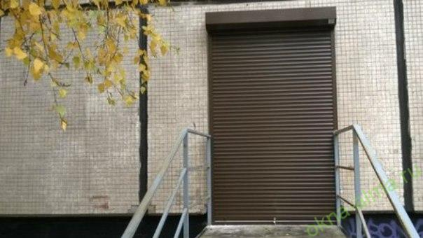 Антивандальные роллеты для двери