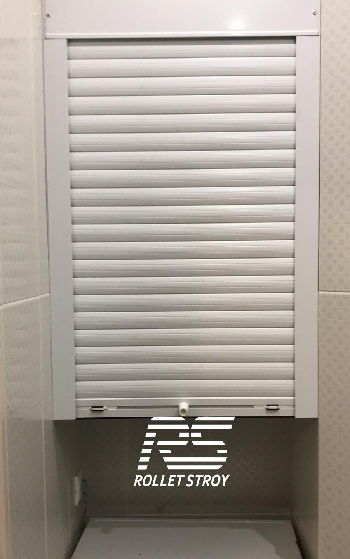 Рольставни в сантехнический шкаф